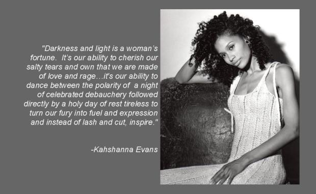 Quote from (What Is) A Woman's Worth by Kahshanna Evans